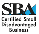 SBA Certified Small Disadvantaged Business